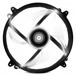 NZXT Airflow Series RF-FZ20S-R1 200mm White LED Case Fan