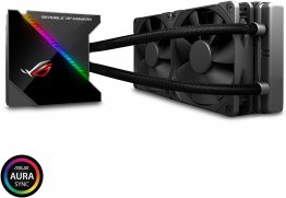 ROG Ryujin 240 All-in-One Liquid CPU Cooler with Live Dash Colour OLED - Black