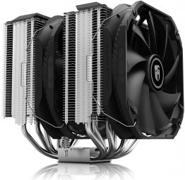 DEEPCOOL ASSASSIN III, Premium Dual-Tower CPU Cooler with 2xPWM 140mm Fans, 7 Direct Contact Heatpipes, Support LGA 2066 / AM4
