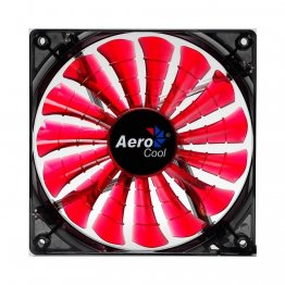 AeroCool Shark 140mm Red LED Case Fan