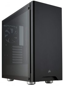 CORSAIR CARBIDE 275R Mid-Tower Gaming Case, Tempered Glass- Black