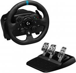 Logitech G923 TrueForce Racing Wheel and Pedals for PlayStation, Xbox One and PC- USB