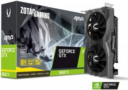 ZOTAC ZT-T16610D-10M NVIDIA GeForce GTX 1660 Ti AMP 6GB GDDR6 HDMI/3DisplayPorts PCI-Express Video Card