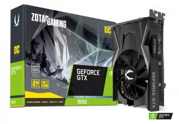 Zotac GAMING GeForce GTX 1650 OC 4GB Graphic Card ZT-T16500F-10L