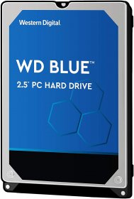 "Western Digital 2TB Blue 5400 RPM SATA 6 Gb/s, 128 MB Cache, 2.5"" Internal Hard Drive - WD20SPZX"