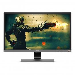 "BenQ EL2870U 27.9"" HDR LED 4K UHD FreeSync Monitor - Metallic Gray"