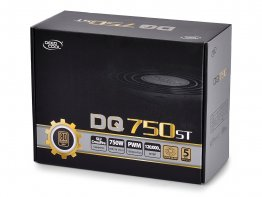 Deepcool DQ750ST 750W ATX12V SLI Ready CrossFire Ready 80 PLUS GOLD Certified Active PFC Power Supply