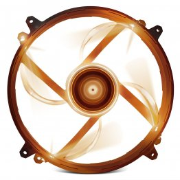 NZXT Airflow Series RF-FZ20S-O1 200mm Orange LED Case Fan