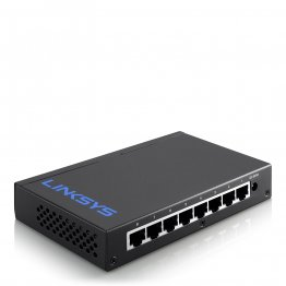 Linksys Business 8-Port Desktop Gigabit Switch (LGS108)