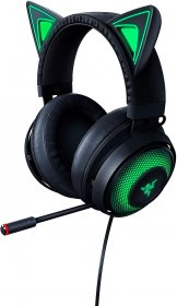 Razer RZ04-02980100-R3M1 Razer Kraken Kitty USB Gaming Headset with Chroma Lighting - Black