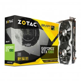Zotac GeForce GTX 1060 AMP!, ZT-P10600B-10M, 6GB GDDR5 Super Compact Dual-Fan Graphic Card