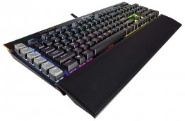 Corsair K95 RGB Platinum Mechanical Gaming Keyboard - Cherry MX Speed - Black - CH-9127014-ND