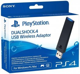Sony Dualshock 4 USB Wireless Adaptor Ps4 to PC - Black - CUHZWA1E
