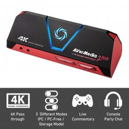 Avermedia Live Gamer Portable 2 Plus 4k Passthrough Capture - 61GC5130A0AH