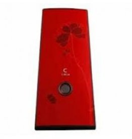 Circle Bloom Red Case -Clearance Item: No Warranty, Refund or Exchange.