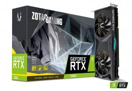 Zotac ZT-T20800G-10P GeForce RTX 2080 8GB GDDR6, 256bit, 3 x DisplayPort, HDMI 2.0, USB Type-C Gaming Graphic Card