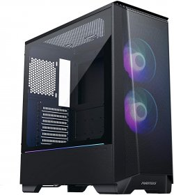 Phanteks Eclipse P360A PH-EC360ATG_DBK01 Black Steel / Tempered Glass ATX Mid Tower Gaming Case