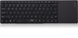 Rapoo E6700 Bluetooth Touch Keyboard - Black