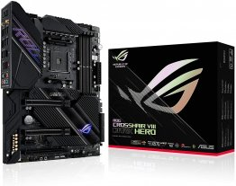 Asus ROG Crosshair VIII Dark Hero AMD X570 ATX Gaming Motherboard