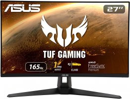 "ASUS TUF Gaming VG279Q1A  27"" 1080P Full HD, IPS, 165Hz, 1ms, Adaptive-sync, FreeSync PremiumGaming Monitor- 90LM05X0-B01170"