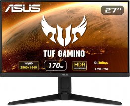 "ASUS TUF Gaming VG27AQL1A  27"" HDR, 1440P WQHD (2560 x 1440), 170Hz (Supports 144Hz), IPS, 1ms, G-SYNC Compatible Gaming Monitor-90LM05Z0-B01370"