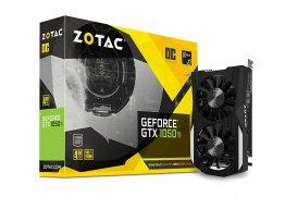 Zotac GTX1050 Ti OC 4GB GDDR5 Graphic Card - ZT-P10510B-10L