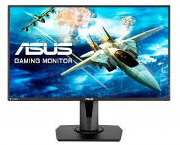 Asus VG278QR, 27 Inch FHD (1920 x 1080) Esports Gaming Monitor, 0.5ms, Up to 165 Hz, DP, HDMI, DVI, FreeSync, Low Blue Light, Flicker Free, TUV Certified