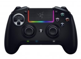 Razer RZ06-02600100-R3G1 Raiju Ultimate Esports Capable Wireless and Wired Gaming Controller for PS4, Black