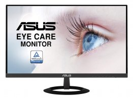 "Asus VZ279HE 27"" FHD Monitor - Black 1920 x 1080, IPS, Ultra-Slim Design, HDMI, D-Sub, Flicker Free, Low Blue Light, TUV Certified"