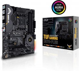 ASUS AM4 TUF Gaming X570-Plus ATX Motherboard with PCIe 4.0, Dual M.2, 12+2 with Dr. MOS Power Stage, HDMI, DP, SATA 6Gb/s, USB 3.2 Gen 2 and Aura Sync RGB Lighting