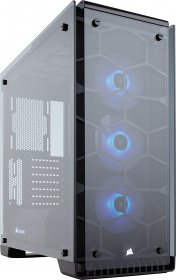 Corsair Crystal Series 570X RGB CC-9011098-WW Aluminum / Tempered Glass ATX Mid Tower Cases
