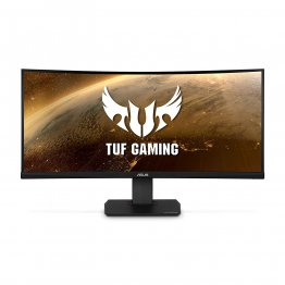 TUF Gaming VG35VQ Gaming Monitor – 35 inch WQHD (3440x1440), 100Hz, Extreme Low Motion Blur™, Adaptive-Sync,1ms (MPRT), Curved