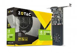 ZOTAC GeForce GT 1030 2GB GDDR5 64-bit PCIe 3.0 DirectX 12 HDCP Ready Low Profile Video Card - ZT-P10300A-10L