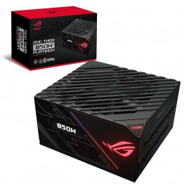ASUS ROG Thor 850W Platinum Power Supply Unit with Aura Sync and OLED Display