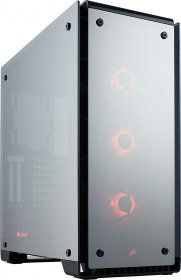 Corsair  Crystal Series 570X RGB Mid-Tower Case (Mirror Black) - CC-9011126-WW