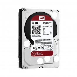 "Western Digital Red 6TB NAS 3.5"" SATA 6 Gb/s, 64MB Cache Hard Drive"