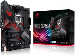 Asus ROG Strix Z390-H Gaming LGA1151 (Intel 8th and 9th Gen) ATX DDR4 DP HDMI M.2 USB 3.1 Gen2 Gigabit LAN Motherboard