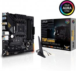 ASUS TUF Gaming B550M-PLUS (WiFi 6) AMD AM4 (3rd generation Ryzen microATX Gaming Motherboard.