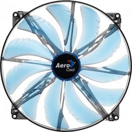AeroCool Silent Master 200mm Blue LED Case Fan