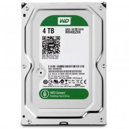 "WD Green WD40EZRX 4TB IntelliPower 64MB Cache SATA 6.0Gb/s 3.5"" Internal Hard Drive - Bulk Bare Drive"