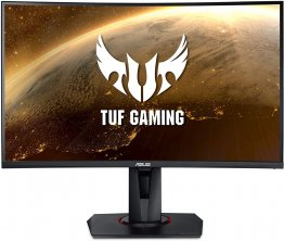 ASUS TUF Gaming VG27VQ Curved Gaming Monitor – 27 inch Full HD (1920x1080), 165Hz , Extreme Low Motion Blur™, Adaptive-sync, Freesync™ Premium,1ms (MPRT)