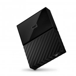 Western Digital 4TB Black My Passport  Portable External Hard Drive - USB 3.0 - WDBYFT0040BBK-WESN