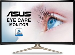 "Asus Curved VA327H 31.5"" Full HD 1080P HDMI VGA Eye Care Monitor"
