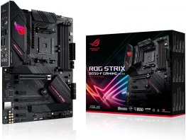 ASUS ROG STRIX B550-F Gaming WIFI, AMD AM4 3rd Gen Ryzen ATX Gaming Motherboard.