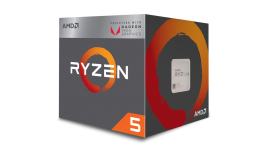 AMD Ryzen 5 2400G Processor with Radeon RX Vega 11 Graphics