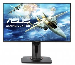 "Asus VG258Q 24.5"" Full HD 1080p 144Hz 1ms Eye Care G-SYNC compatible FreeSync Gaming Monitor with DP HDMI DVI"