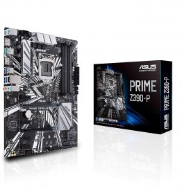 Asus Prime Z390-P LGA1151 (8th 9th Gen) DDR4 SATA 6Gb/s DP/HDMI ATX Motherboard