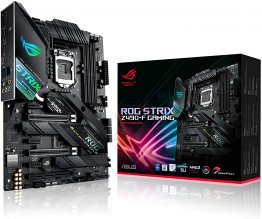 ASUS ROG Strix Z490-F Gaming Intel Z490 LGA 1200 ATX Motherboard (14 Power Stages, DDR4 4600, Intel 2.5 Gb Ethernet, dual M.2 with Heatsinks, USB 3.2 Gen 2, SATA and AURA Sync)