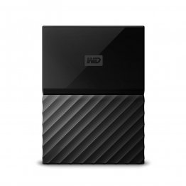 Western Digital 1TB Black My Passport Portable External Hard Drive - USB 3.0 - WDBYNN0010BBK-WESN