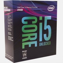Intel Core i5-8600K Coffee Lake 6-Core 3.6 GHz (4.3 GHz Turbo) LGA 1151 (300 Series) 95W Desktop Processor Intel UHD Graphics 630